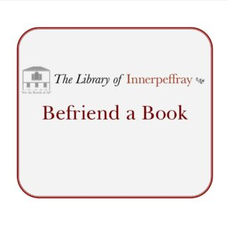Support the Library by sponsoring book restoration
