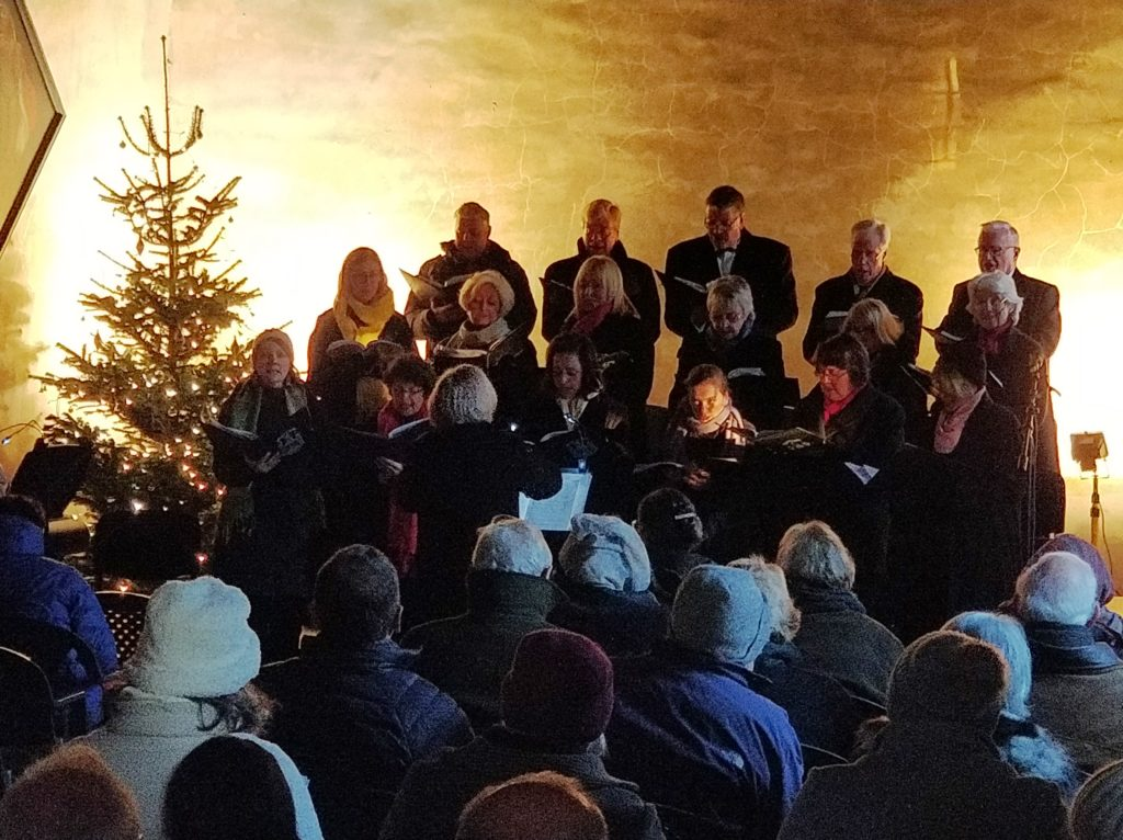 Carol concert in St Mary's chapel
