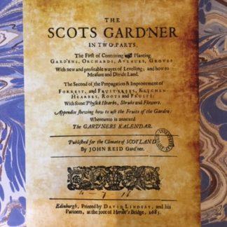 A facsimile copy of the Scots Gard'ner book