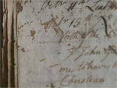 An entry from the Borrowers' Register