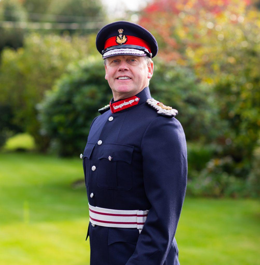 Lord Lieutenant Stephen Leckie